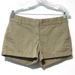 J. Crew weathered broken-in chino army green Sz 2
